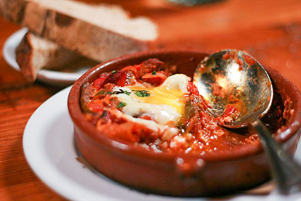 Shakshouka in Morocco - Food of Morocco