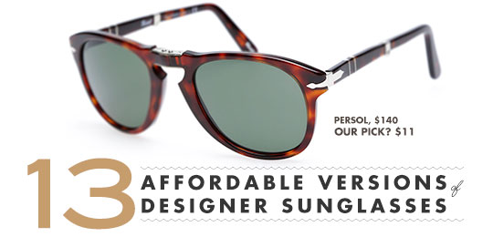 13 Affordable Versions of Designer Sunglasses