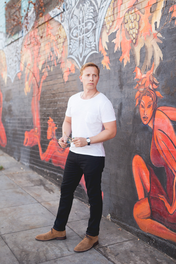 5 Ways To Wear A White Pocket T Shirt Style Inspiration