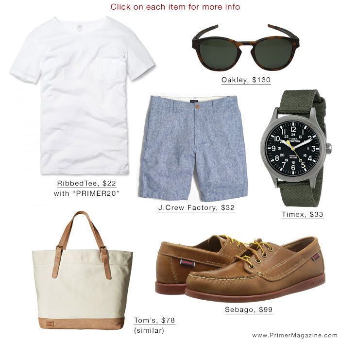 White t shirt summer style inspiration