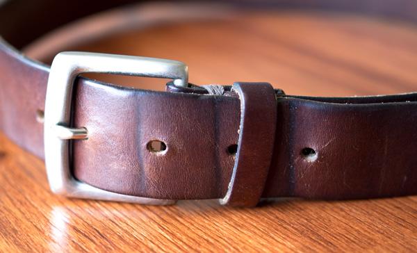 Belt creases