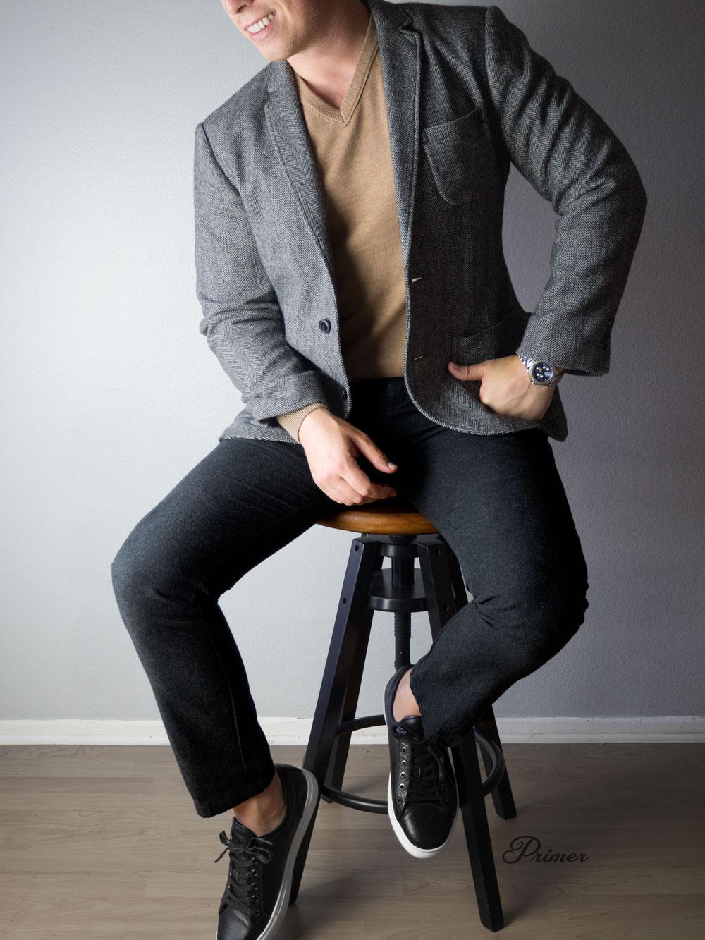 Cocktail bar men's fall fashion inspiration