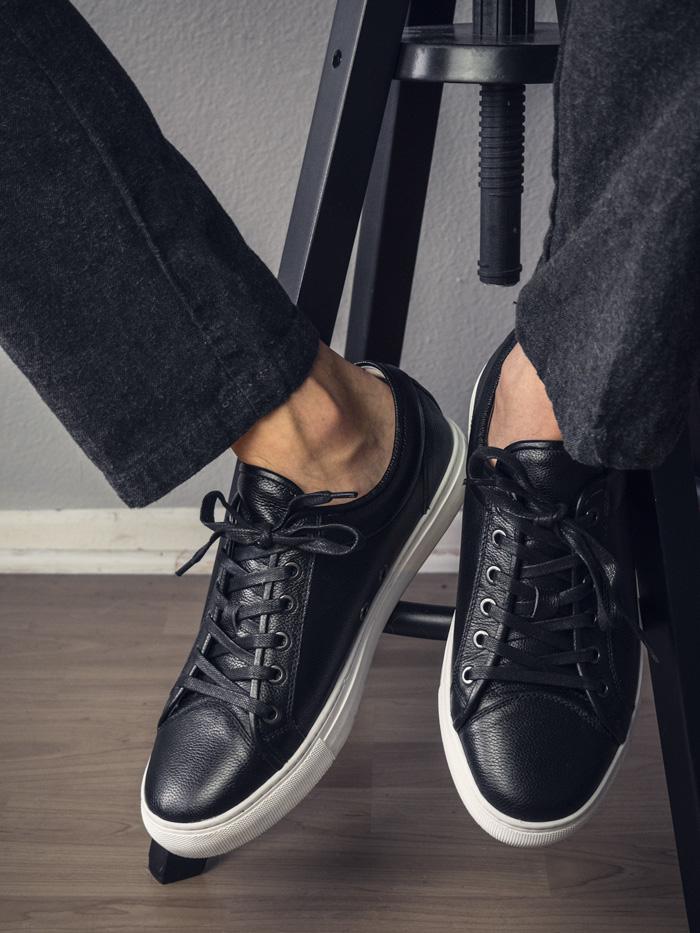 Combatant Gentlemen Toecap full grain leather sneakers