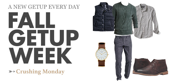 Fall Getup Week: Crushing Monday