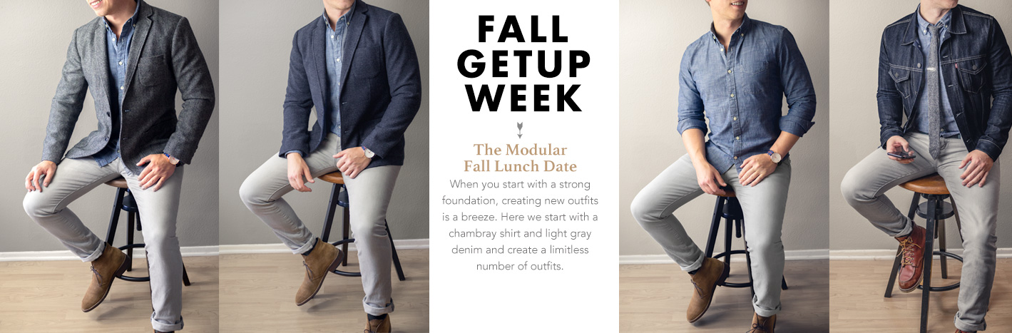 Fall Getup Week: The Modular Fall Lunch Date + 5 Variations!