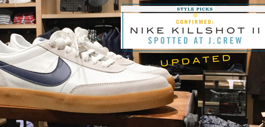 Nike's Killshot 2 Spotted in J.Crew Stores [updated]