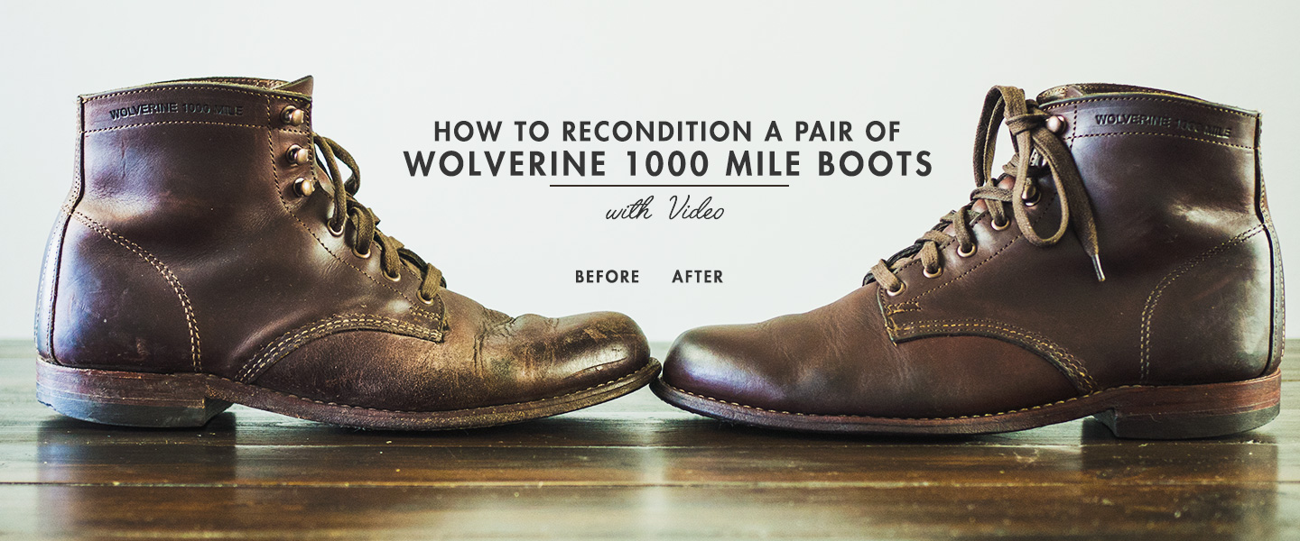 How to Recondition Your Favorite Pair of Boots PLUS Video!