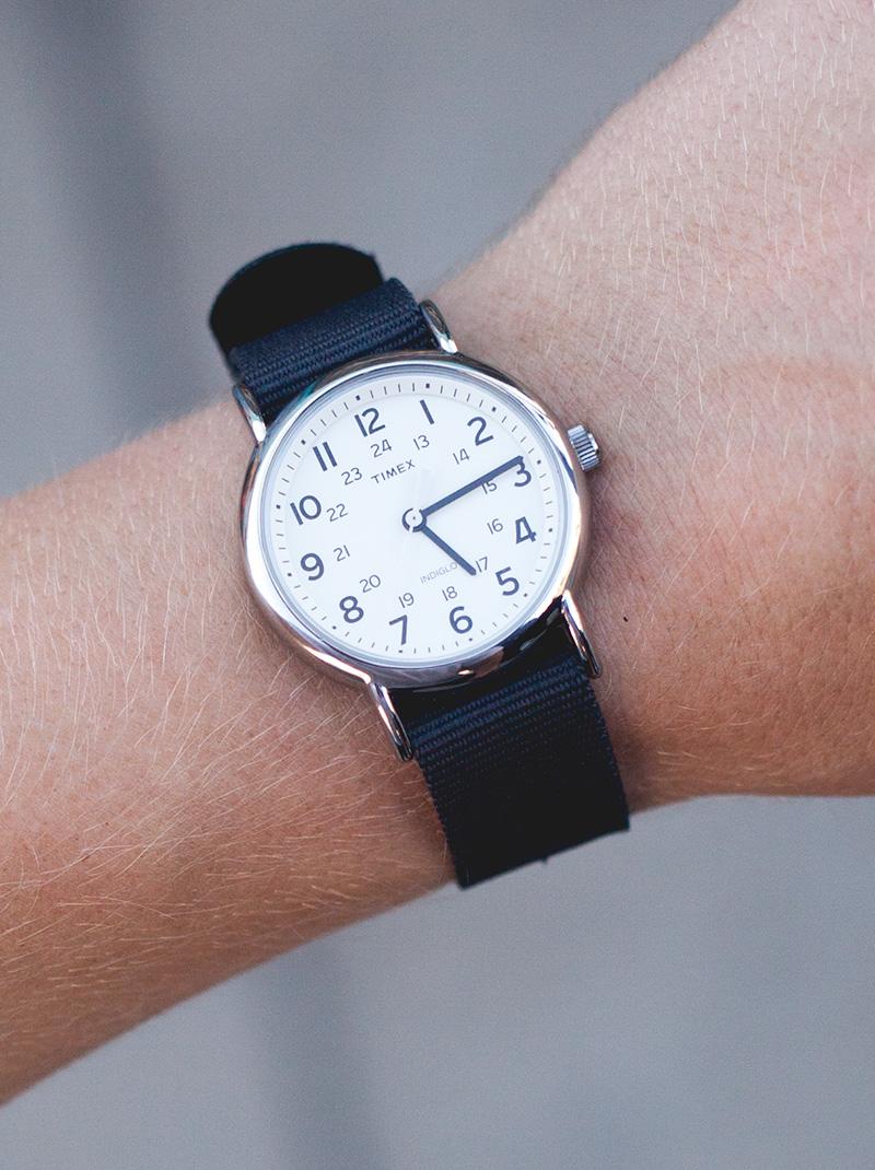 Timex Weekender Charcoal Strap