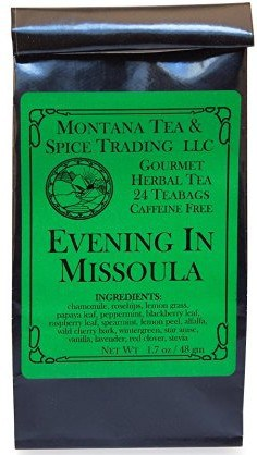 evening in missoula tea