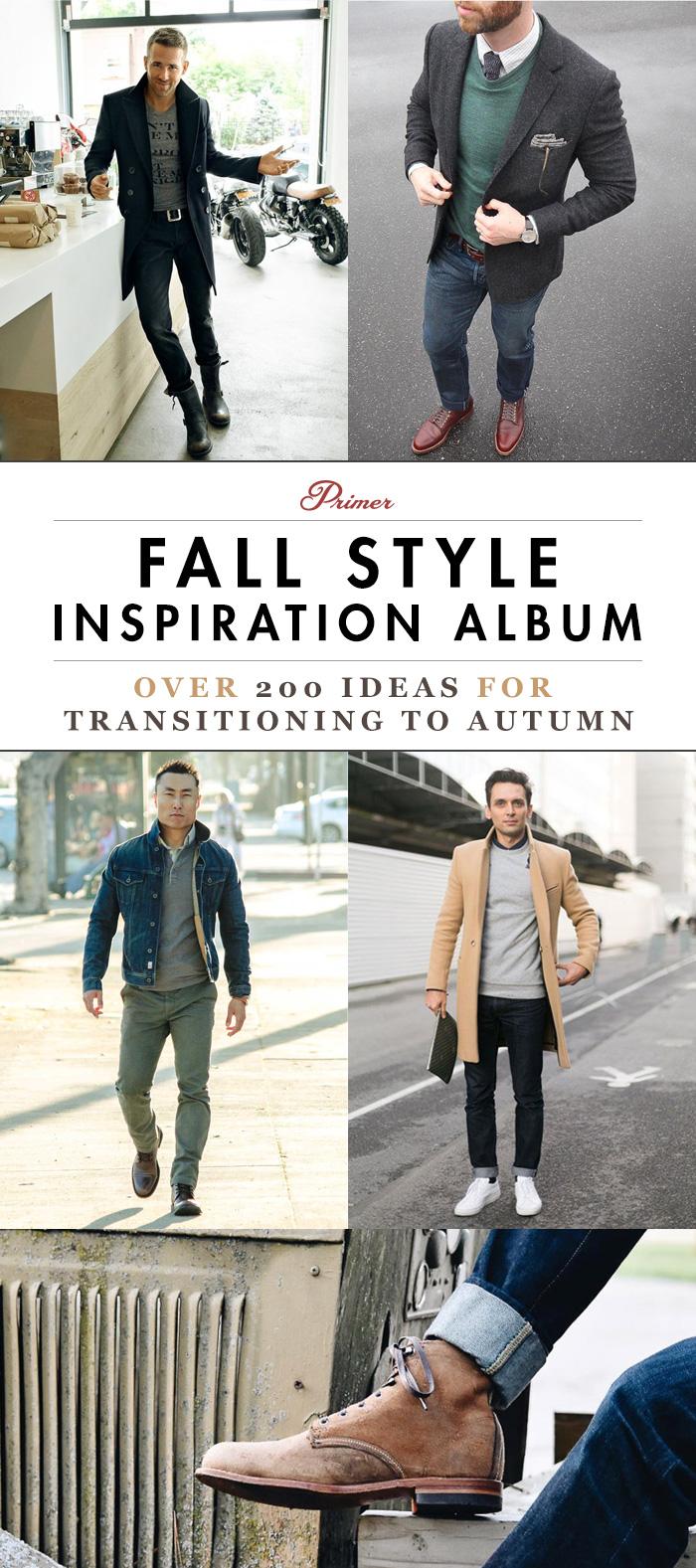 Men's Fall Style Inspiration Album