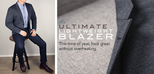 The Ultimate Lightweight Blazer