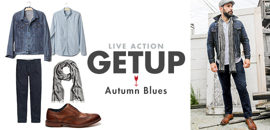 Live Action Getup: Autumn Blues