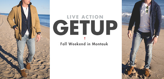 Live Action Getup: Fall Weekend in Montauk