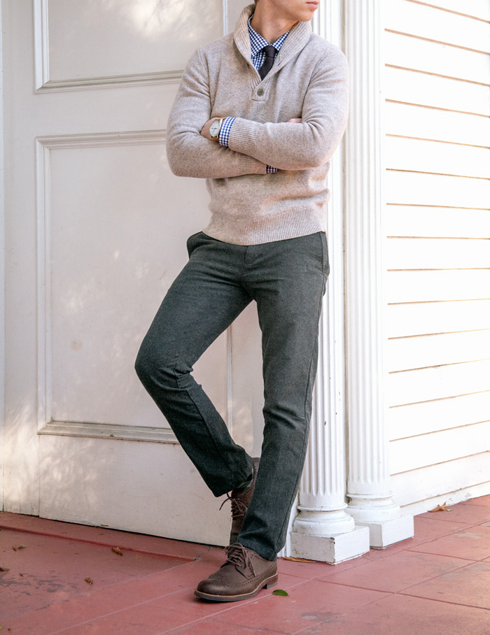 Fall dress outfit inspiration for men