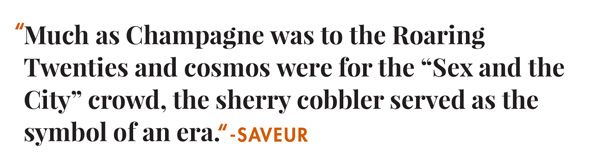 sherry cobbler quote