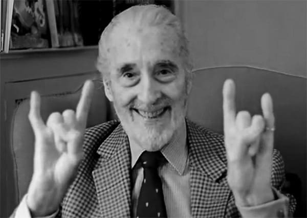 men we wish we were  christopher lee