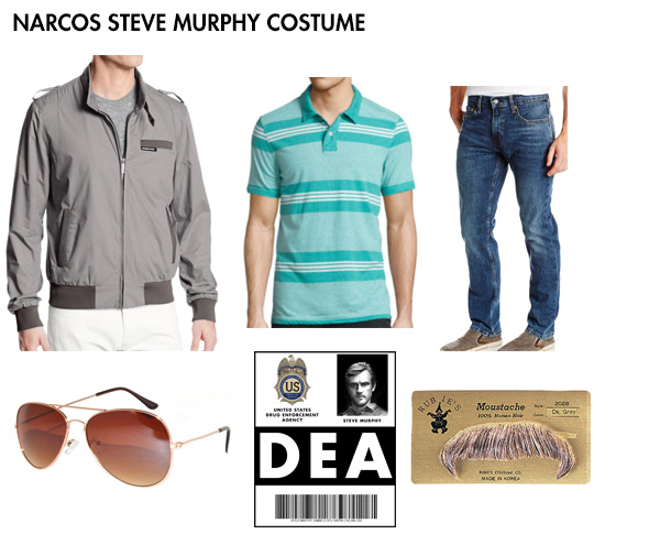 Narcos costume