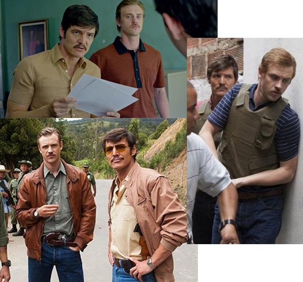 Steve Murphy Narcos costume inspiration