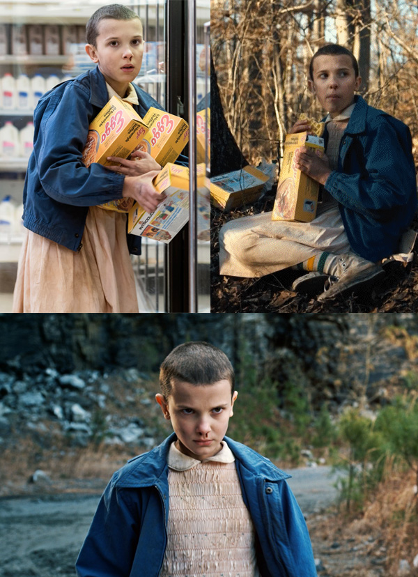 Stranger Things Eleven costume inspiration
