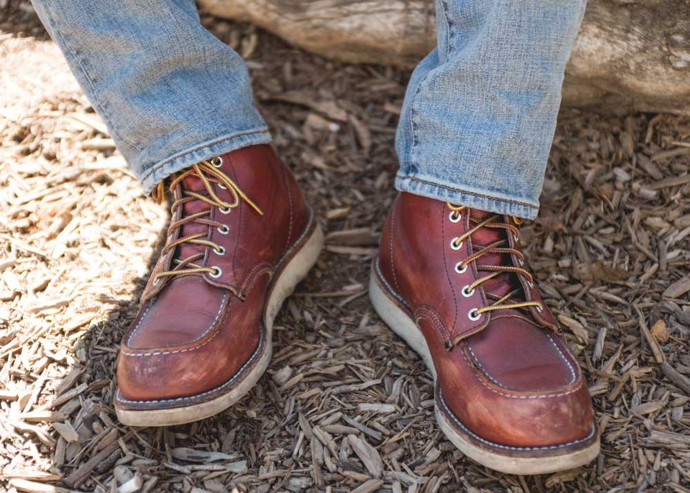 Red Wing Moc Toe Heritage Boots