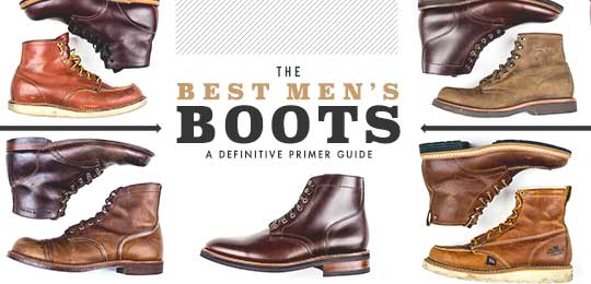 the best men's boots