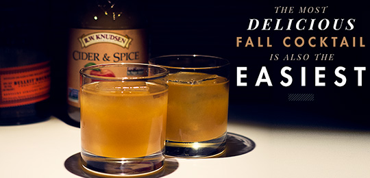 The Most Delicious Fall Cocktail Is Also The Easiest