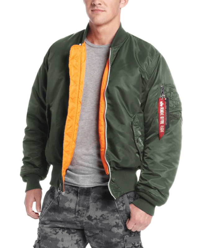 Alpha Industries MA-1 Bomber $84