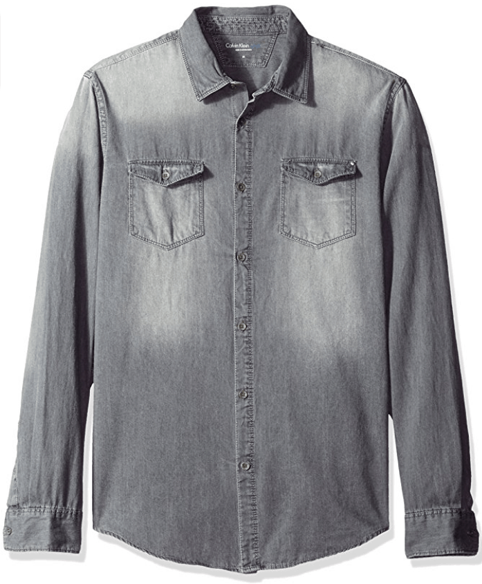 Calvin Klein denim shirt $48.65