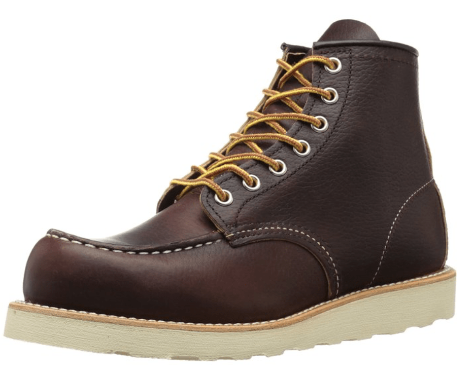 Red Wing Moc Toe $182 / Read our 10 best men's boots