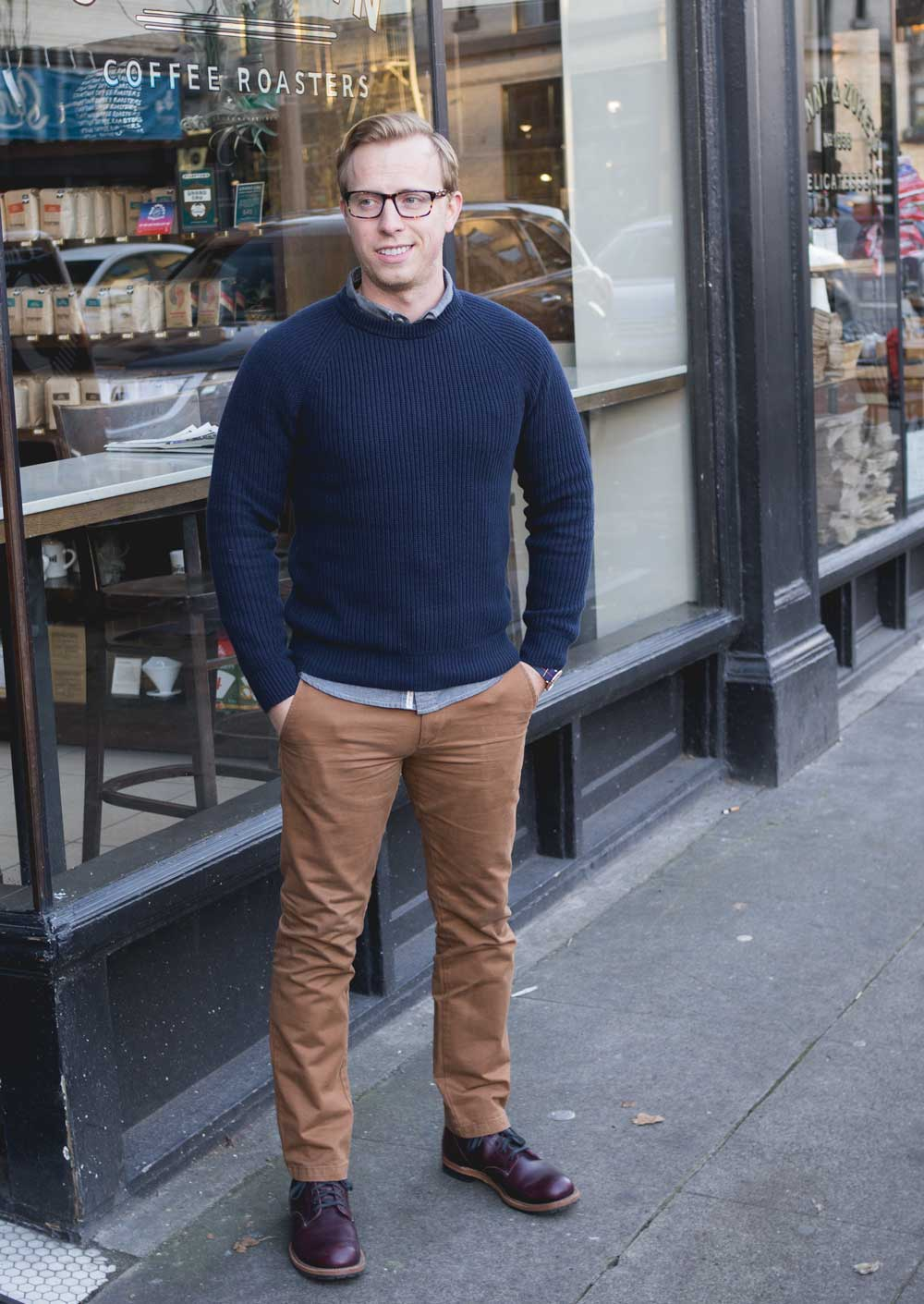 Men's Outfit Ideas - Thanksgiving Dinner