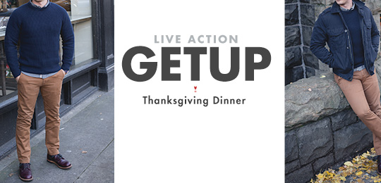 Live Action Getup: Thanksgiving Dinner