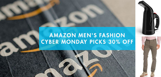 Amazon Men's Fashion Cyber Monday Picks 30% Off