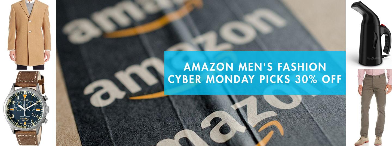 Amazon Men's Fashion Cyber Monday Picks 30% Off