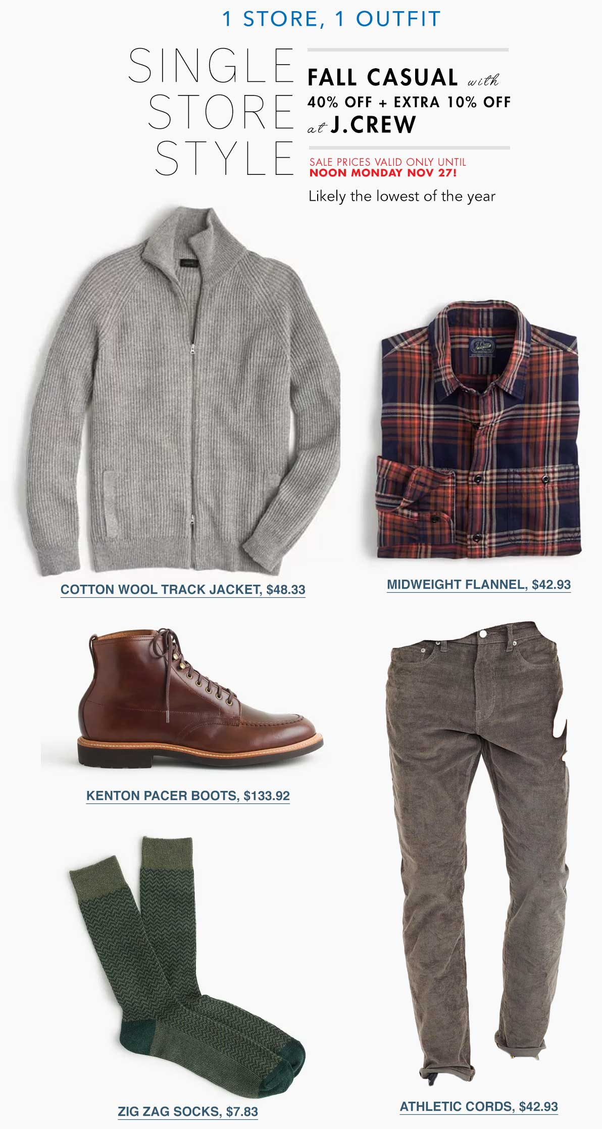 mens fashion cyber monday jcrew