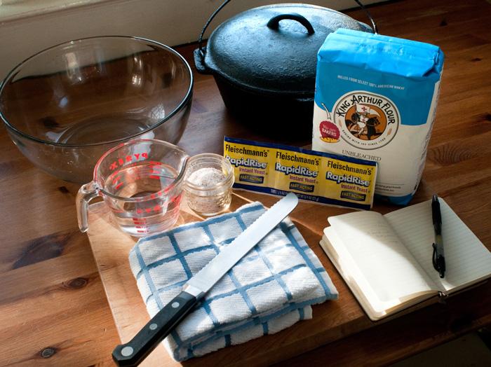 homemade dutch oven bread recipe