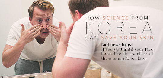 How Science from Korea Can Save Your Skin