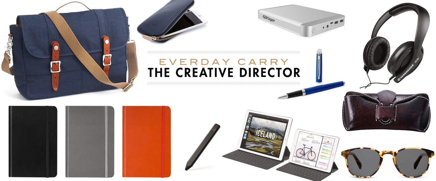 everyday carry creative director items