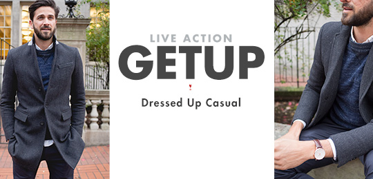 Live Action Getup: Dressed Up Casual