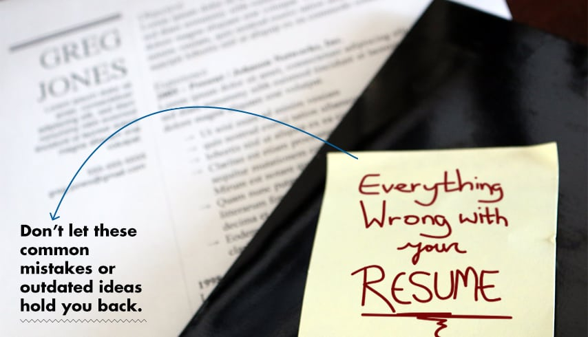 everything wrong with your resume logo