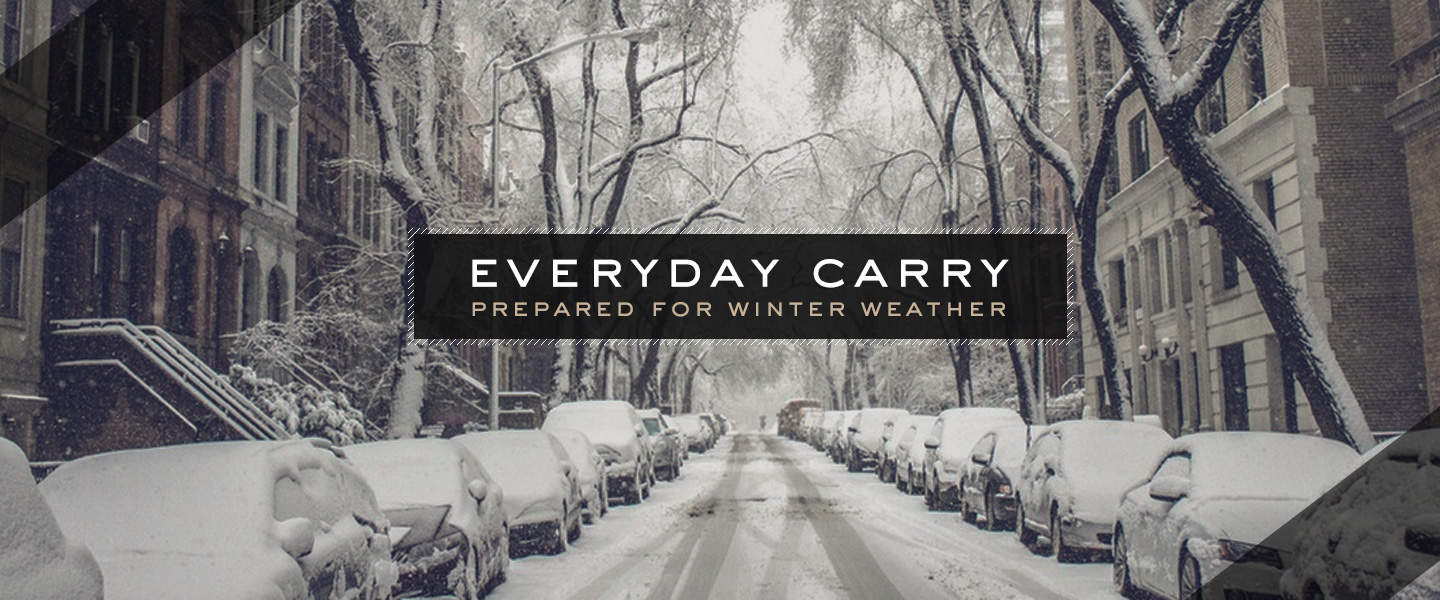 everyday carry winter weather blizzard