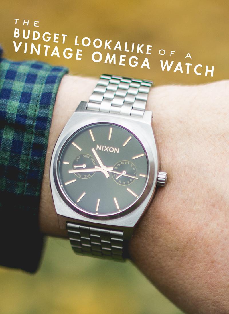 Nixon Time Teller Chronograph Olive Sunray