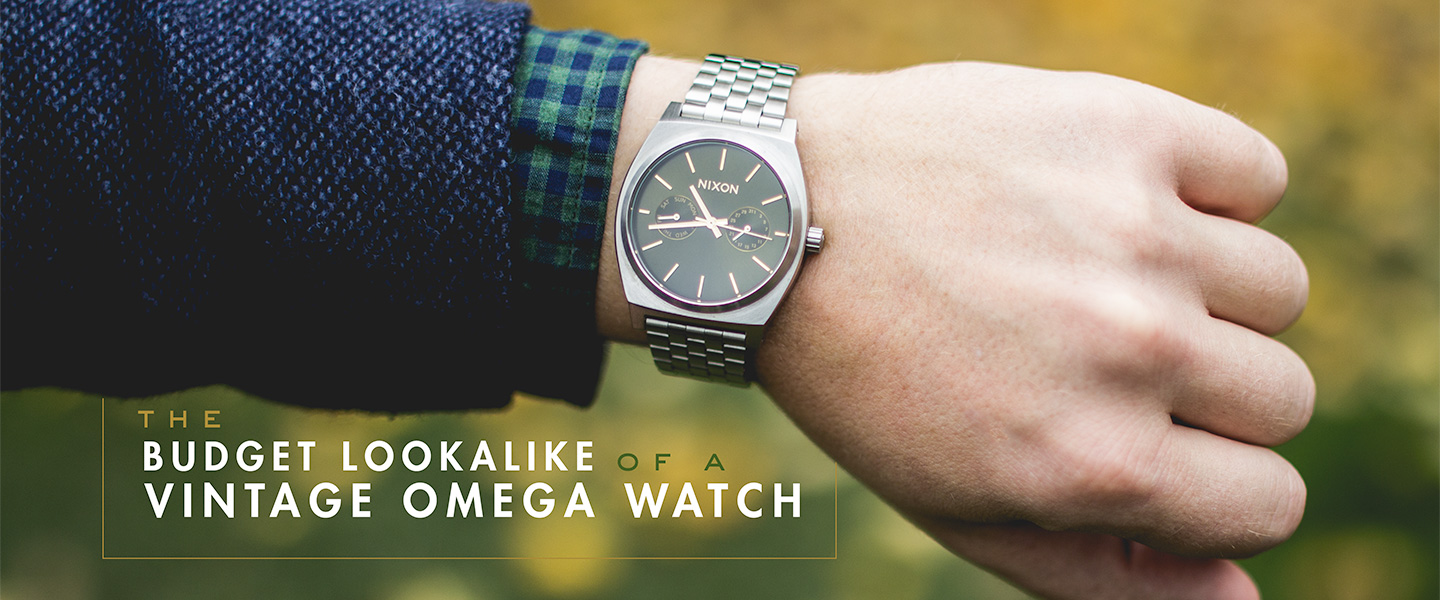 The Budget Lookalike of a Vintage Omega Watch