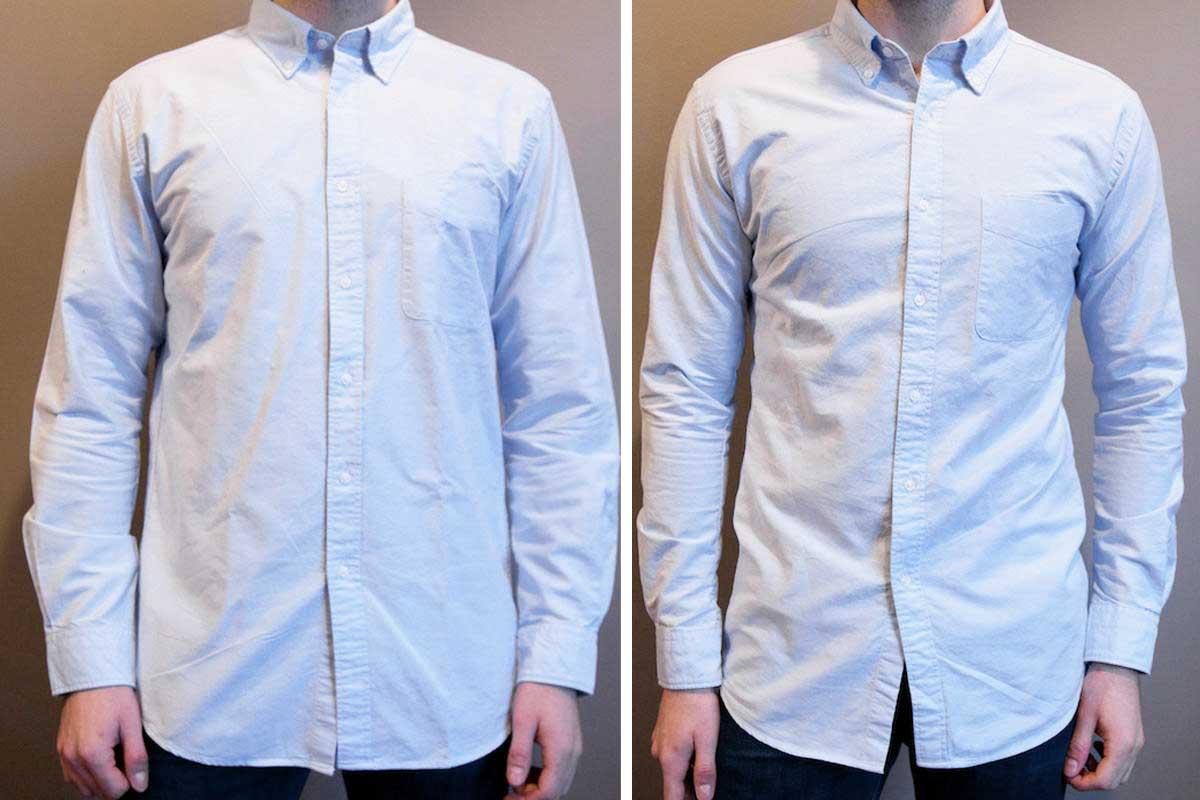 Tailor a shirt