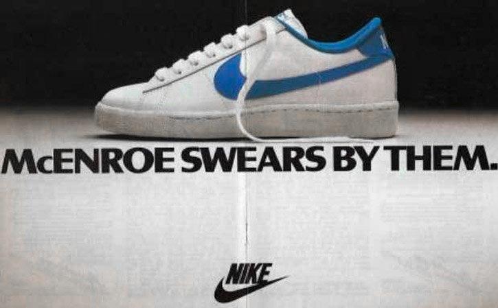 Nike Classic McEnroe Ad