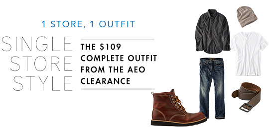 The $109 Complete Outfit from the AEO Clearance