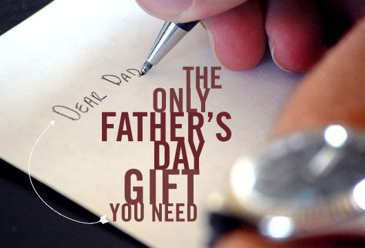 fathers day letter card