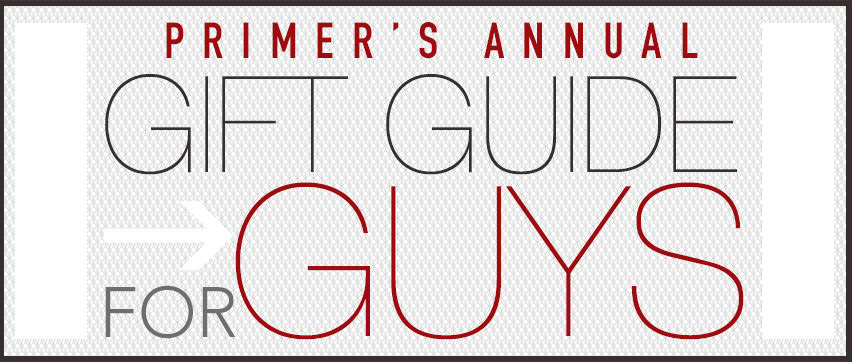 gift guide for guys header 2013