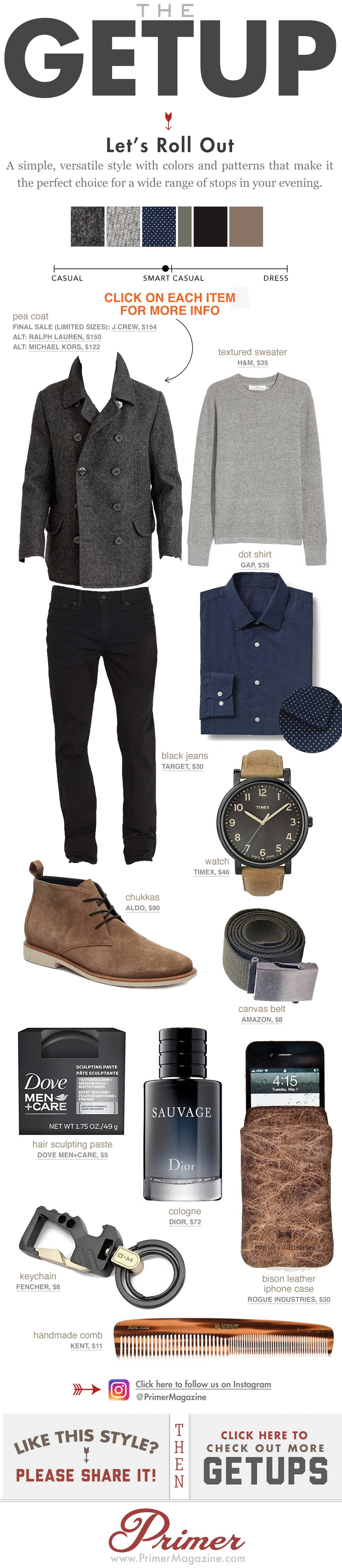 The Getup - going out outfits - Mens Casual Fashion Inspiration