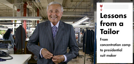 Lessons from a Tailor [video]