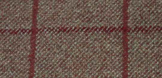 overcheck tweed fabric